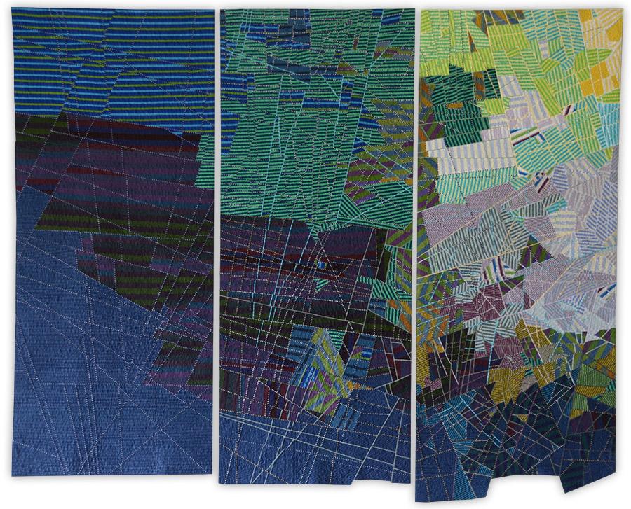 fiber art by Kathleen Loomis