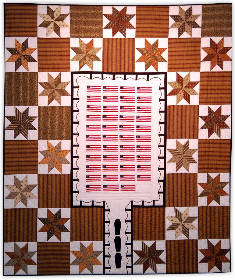 quilt by Kathleen Loomis