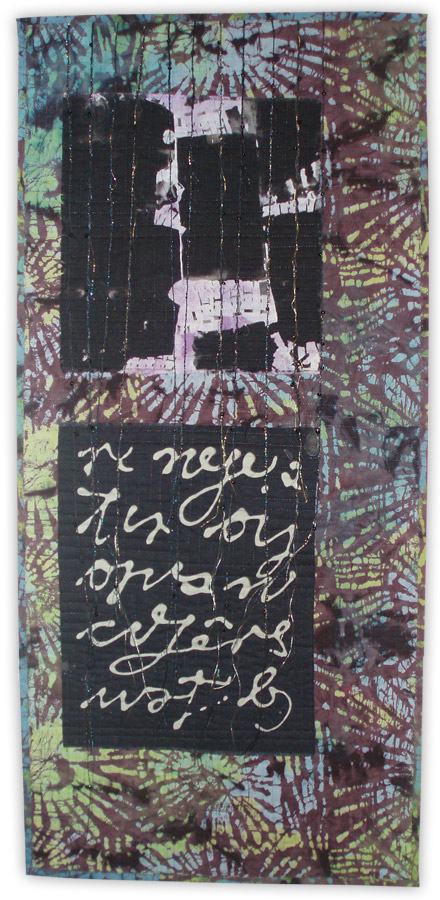 art quilt by Kathy Loomis